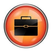 Icono maletín — Foto de Stock