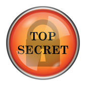 Top secret icon — Foto Stock