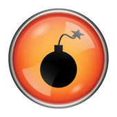 Bomb icon — Stock Photo