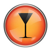 Martini glass icon — Foto Stock