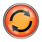 Reload two arrows icon — Foto Stock