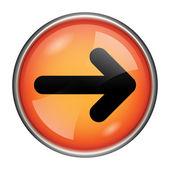 Right arrow icon — Stockfoto