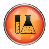 Chemistry set icon — Stockfoto