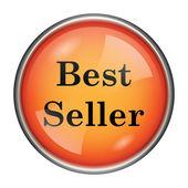 Nejlepší prodejce ikona — Stock fotografie
