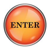 Enter icon — Foto Stock