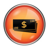 Money icon — Foto Stock