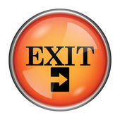 Exit icon — Stock Photo