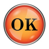 OK icon — Foto Stock
