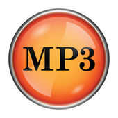 MP3 icon — Stock Photo