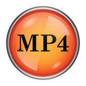 MP4 icon — Foto Stock