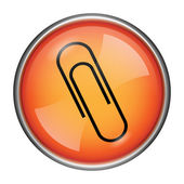 Paperclip icon — Foto Stock