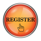 Register icon — Stock Photo