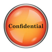Confidential icon — Stock Photo