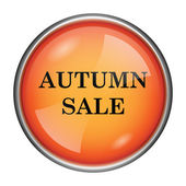 Autumn sale icon — Foto Stock