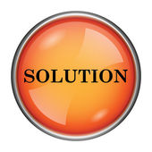 Solution icon — Stock Photo