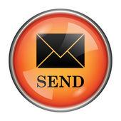 Send icon — Stock Photo