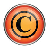 Copyright icon — Foto Stock