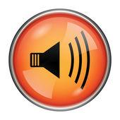 Speaker icon — Stock Photo