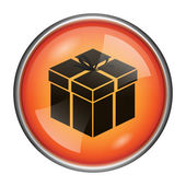 Gift icon — Stock fotografie