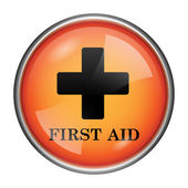 ícone de primeiros socorros — Foto Stock