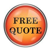 Free quote icon — Stock Photo
