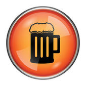 Beer icon — Stock Photo