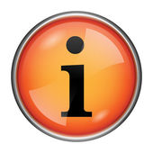 Info pictogram — Stockfoto