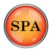 Spa icon — Stock Photo