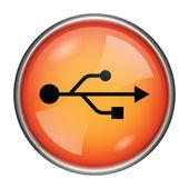 Usb-pictogram — Stockfoto