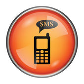 SMS icon — Stock Photo