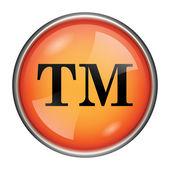 Ochranné známky ikona — Stock fotografie