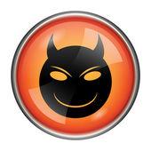зло значок — Стоковое фото