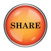 ícone de compartilhamento — Fotografia Stock