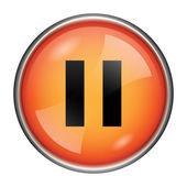 Pause icon — Stock Photo