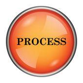 Proces pictogram — Stockfoto