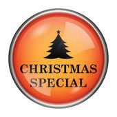 Christmas special icon — Stock Photo