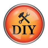 Diy значок — Стоковое фото