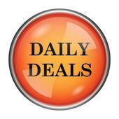 Icono de ofertas diarias — Foto de Stock