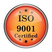 значок iso9001 — Стоковое фото