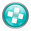Medical patch icon — Stock Photo