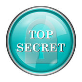 Top secret icon — Stockfoto