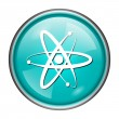 Stock Photo: Atoms icon
