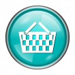 Shopping basket icon — Stock Photo #40141385