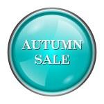 Autumn sale icon — Stock Photo #40141971