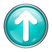 Up arrow icon — Stock Photo