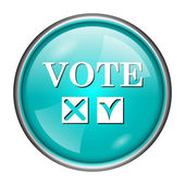 Vote icon — Stock Photo