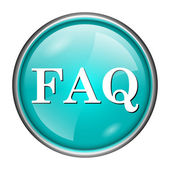 FAQ icon — Stock Photo