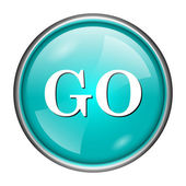 GO icon — Stock Photo