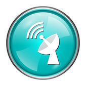 Wireless antenna icon — Stock Photo