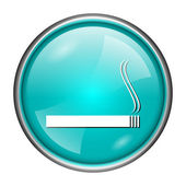Cigarette icon — Stock fotografie